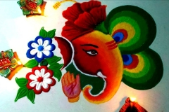 ganpati-beautiful-rangoli-design