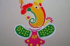 ganpati-rangoli-with-rice