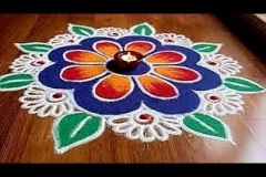 Rangoli-Design-With-Colors-2