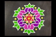 Rangoli-Design-With-Colors-4