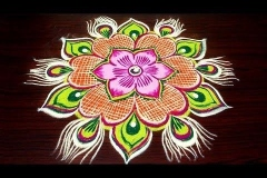 Rangoli-Design-With-Colors-5