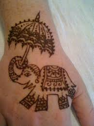 animal mehendi design