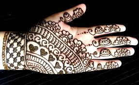 full coverage mehendi design