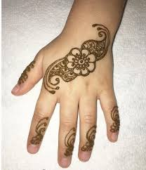 short mehendi design